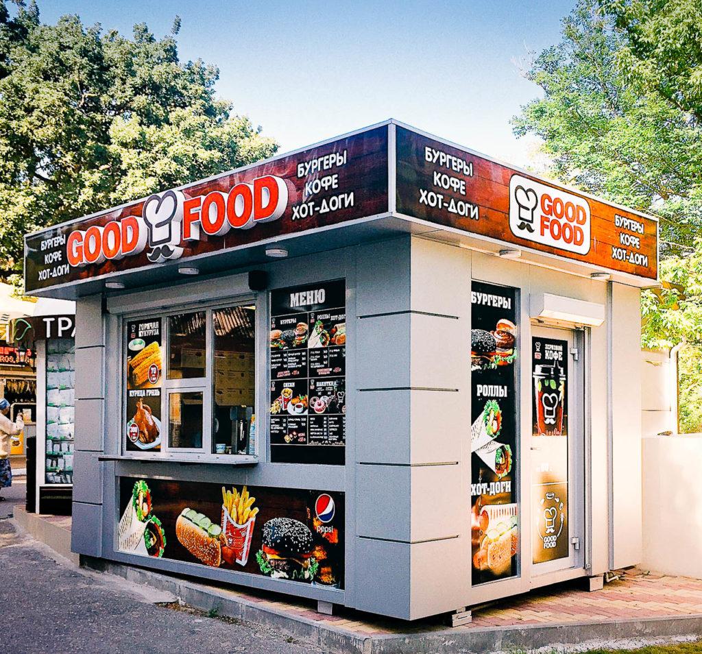 Открытие GOOD FOOD на Черноморском побережье в Геленджике